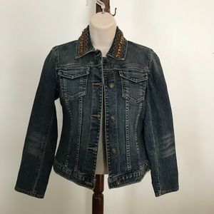 Harold's denim jacket size small